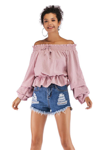 products/Polka-Dot-Puff-Sleeve-Off-the-shoulder-Blouse.jpg