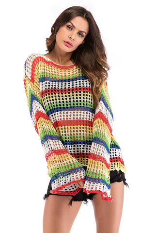 products / Rainbow-Striped-Cut-Out-Strickbluse-_1.jpg