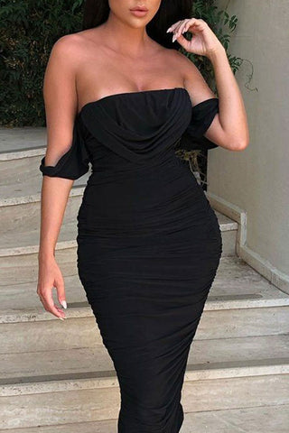produits / Sexy_Off_Shoulder_Shirred_Party_Dress_4.jpg