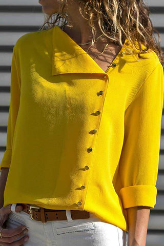 products / Solid_Asymmetric_Buttons_Blouse_1.jpg