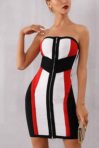 produits / Striped-Color-Block-Block-Zip-Front-Bandage-Dress-_2.jpg