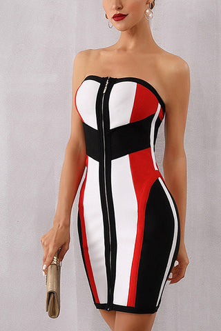 produits / Striped-Color-block-Block-Zip-Front-Bandage-Dress.jpg