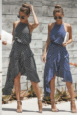 products / SummerWomen_sPolkaDotAsymmetricalDress_1.jpg