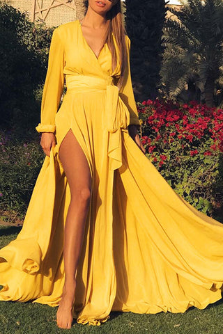 products / V-neck_Satin_Slit_Maxi_Dress_3.jpg
