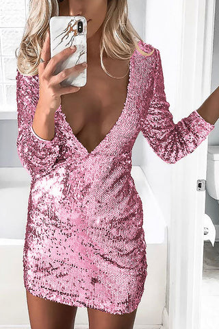 products / V-neck_Sequins_Bodycon_Dress_4.jpg