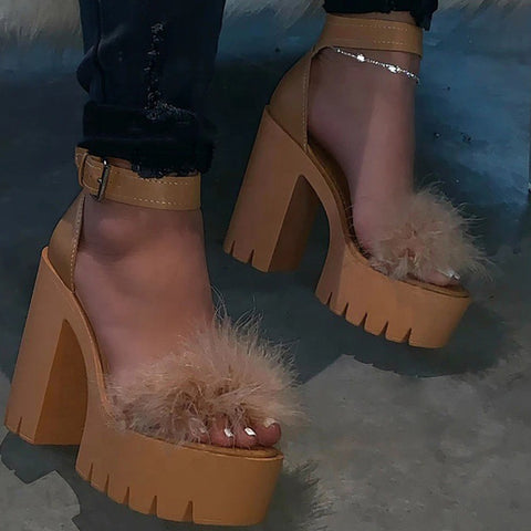 products / Women_sPlatformChunkyHeelsPeep-toeSandalsWithFur_2.jpg