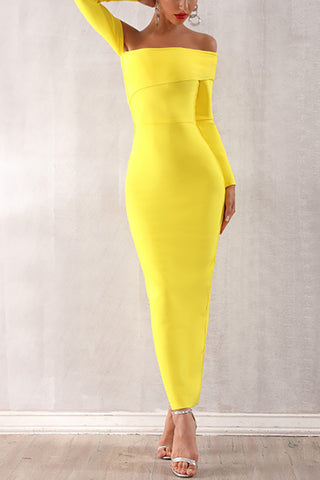 produits / Yellow-Off-Shoulder-Dress-Back-Bandage-Robe-_2.jpg