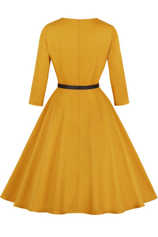 productos / Yellow-Square-Collar-Retro-Dress-_1.jpg