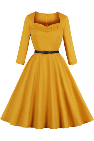 productos / Yellow-Square-Collar-Retro-Dress-_2.jpg