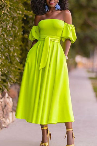 products / fluorescent_green_wrap_dress_1.jpg