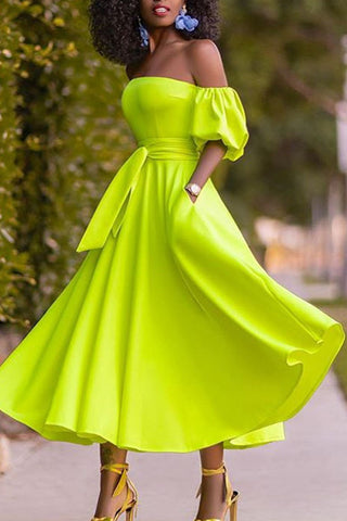 products / fluorescent_green_wrap_dress_2.jpg