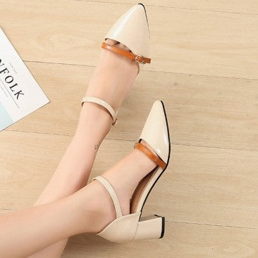products / women_s_chunky_heel_pump_shoes_cap-toe_ankle_with_buckle_3.jpg