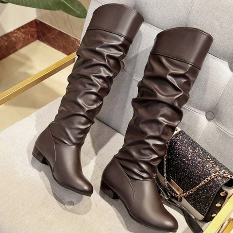 products / women_s_leatherette_low_heel_calf_boots_2.jpg