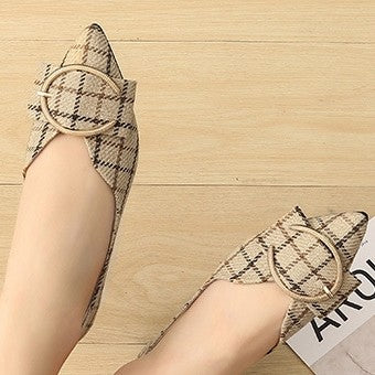 products / women_s_plaid_print_flat_heel_pumps_closed-toe_shoes_3.jpg