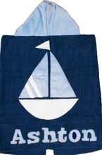 Load image into Gallery viewer, A-B-Sea Boogie Baby Hooded Towel
