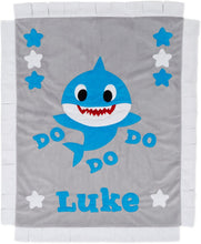 Load image into Gallery viewer, Baby Shark Boogie Baby Blanket