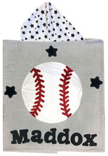 Load image into Gallery viewer, Sports Boogie Baby Hooded Towel