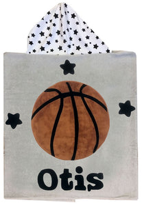 Sports Boogie Baby Hooded Towel