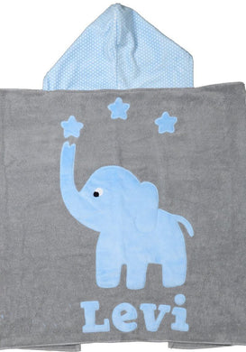 Big Foot Boogie Baby Hooded Towel