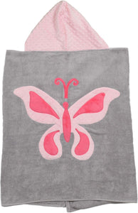 Butterfly Boogie Baby Hooded Towel