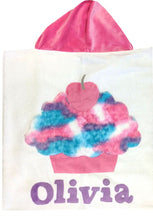 Load image into Gallery viewer, Cupcake Boogie Baby Hooded Towel