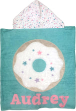 Load image into Gallery viewer, Donutlicious Boogie Baby Hooded Towel
