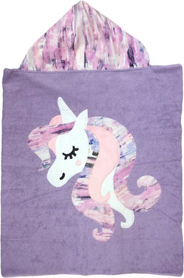 Dreaming Unicorn Boogie Baby Hooded Towel