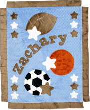 Load image into Gallery viewer, Good Sport Boogie Baby Blanket