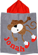 Load image into Gallery viewer, Hanging Around Boogie Baby Hooded Towel