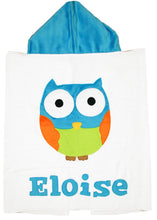 Load image into Gallery viewer, The Hoo Boogie Baby Hooded Towel