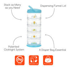 Load image into Gallery viewer, Innobaby Packin' Smart Stackables-5 TIER-ZOO ANIMAL