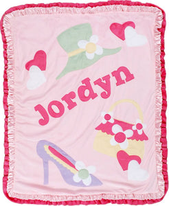 Jillie Goes Shopping Boogie Baby Blanket