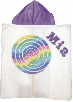 Lollypop Boogie Baby Hooded Towel