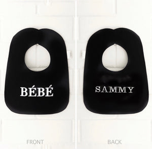 Boca Baby Company Monochrome Collection - BÉBÉ Bib
