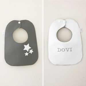 Boca Baby Company Monochrome Collection - Stars Bib