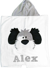 Load image into Gallery viewer, My Dog Spot Boogie Baby Hooded Towel
