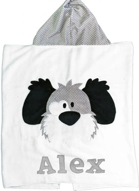 My Dog Spot Boogie Baby Hooded Towel