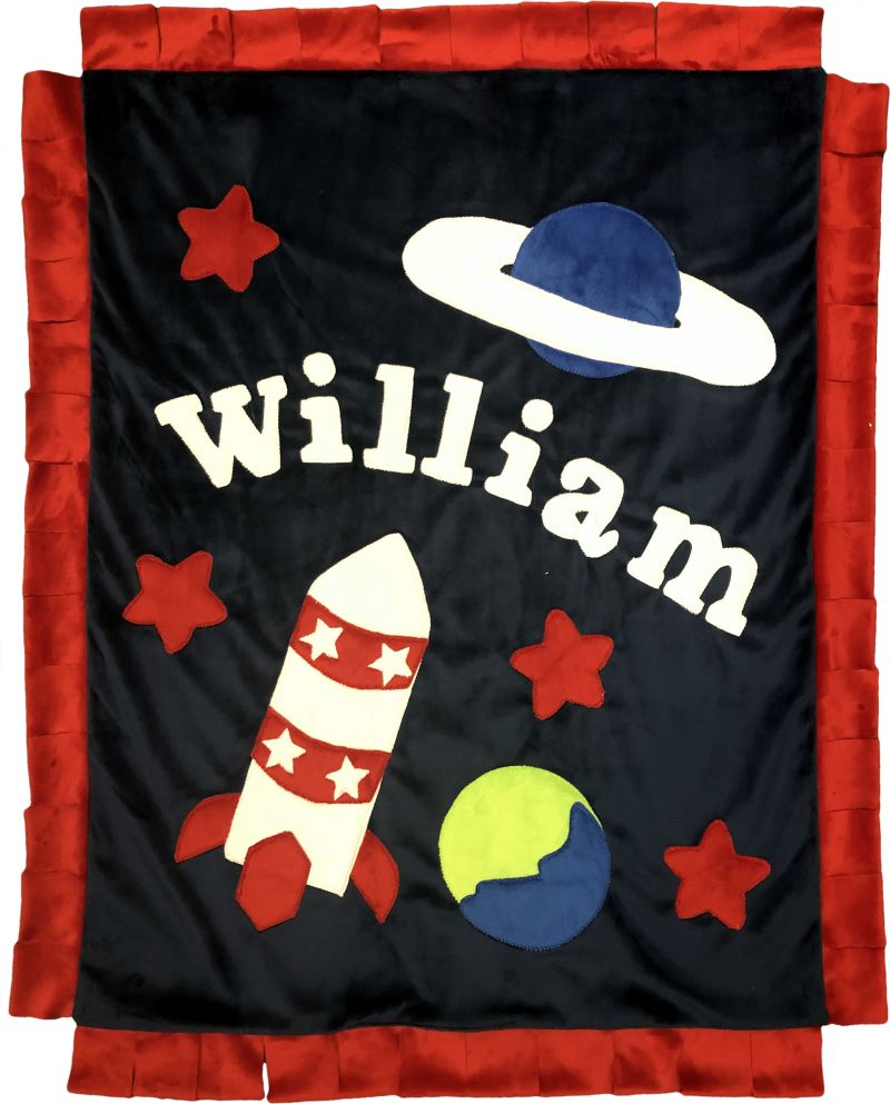 Outer Space Boogie Baby Blanket