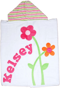Petal Pushers Boogie Baby Hooded Towel