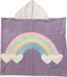 Rainbow Boogie Baby Hooded Towel