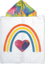 Load image into Gallery viewer, Rainbow of Love Boogie Baby Hooded Towel