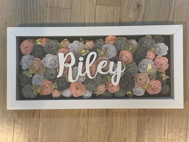 Roses Shadow Boxes