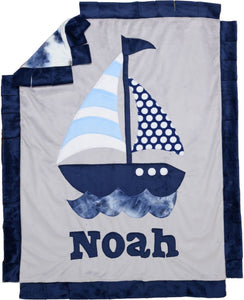 Sail Away Boogie Baby Blanket