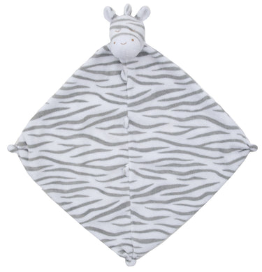Angel Dear Security Blanket/Lovie - Grey Zebra