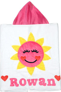 Sweet Sunshine Boogie Baby Hooded Towel