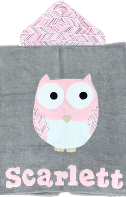 The Hoo Boogie Baby Hooded Towel