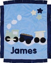 Load image into Gallery viewer, Train Boogie Baby Blanket