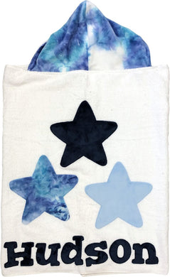 Triple Star Boogie Baby Hooded Towel