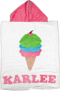 Triple Scoop Boogie Baby Hooded Towel
