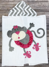 Load image into Gallery viewer, Twinkle Toes Boogie Baby Hooded Towel